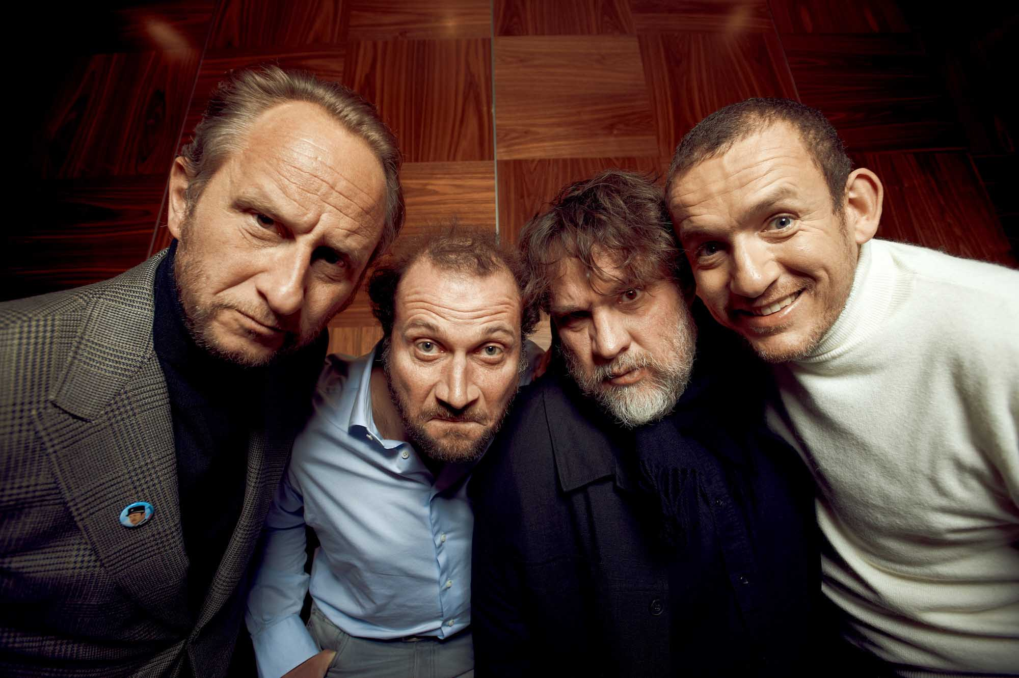 Benoît Poelvoorde, Dany Boon, Bouli Lanners, François Damiens