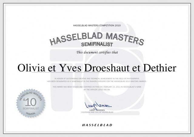 Hasselblad Master 2010