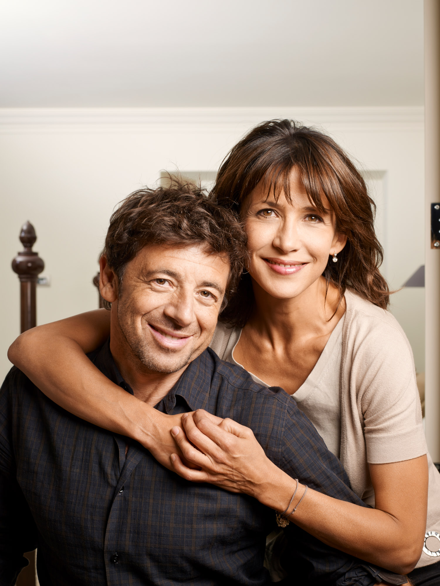 Sophie Marceau and Patrick Bruel…